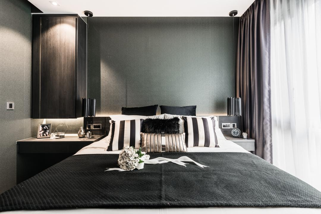 Bellewoods, Mr Shopper Studio, Eclectic, Bedroom, Condo, Bathroom, Indoors, Interior Design, Room, Asphalt, Road, Tarmac, Zebra Crossing