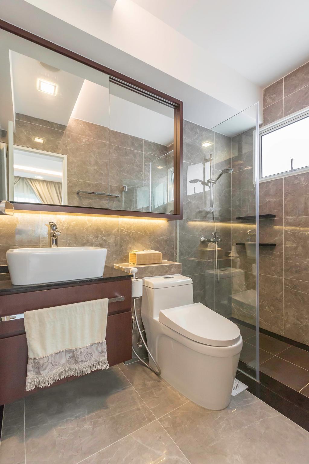 Modern, Condo, Bathroom, Laguna Park, Interior Designer, Weiken.com, Indoors, Interior Design, Room, Sink