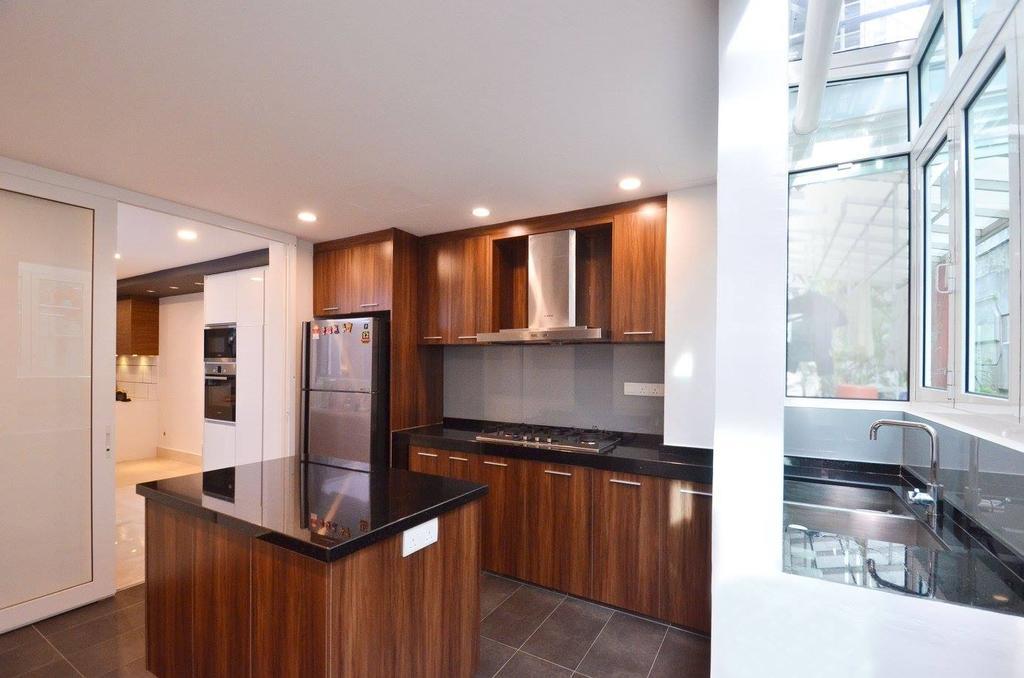 Minimalist, Landed, Kitchen, Villa Aseana, Interior Designer, Mega Fusion Design Studio, Indoors, Interior Design, Room
