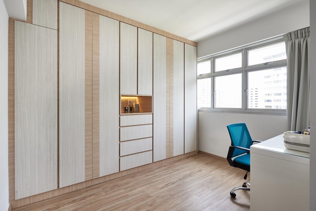 Scandinavian, HDB, Study, Yung Kuang Road, Interior Designer, Inclover Design