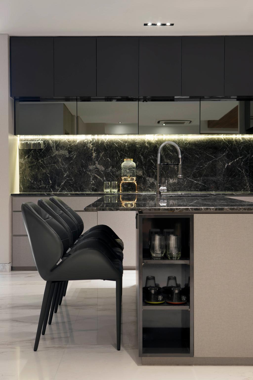 Modern, Landed, Jalan Mutiara, Interior Designer, Prozfile Design, Contemporary, Chair, Furniture
