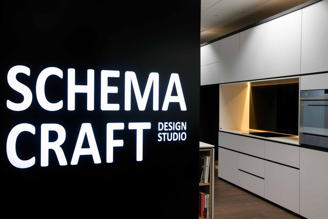 Schema Craft Interior Design Office, Schemacraft, Contemporary, Commercial, Tv Cabinets, Collage, Poster