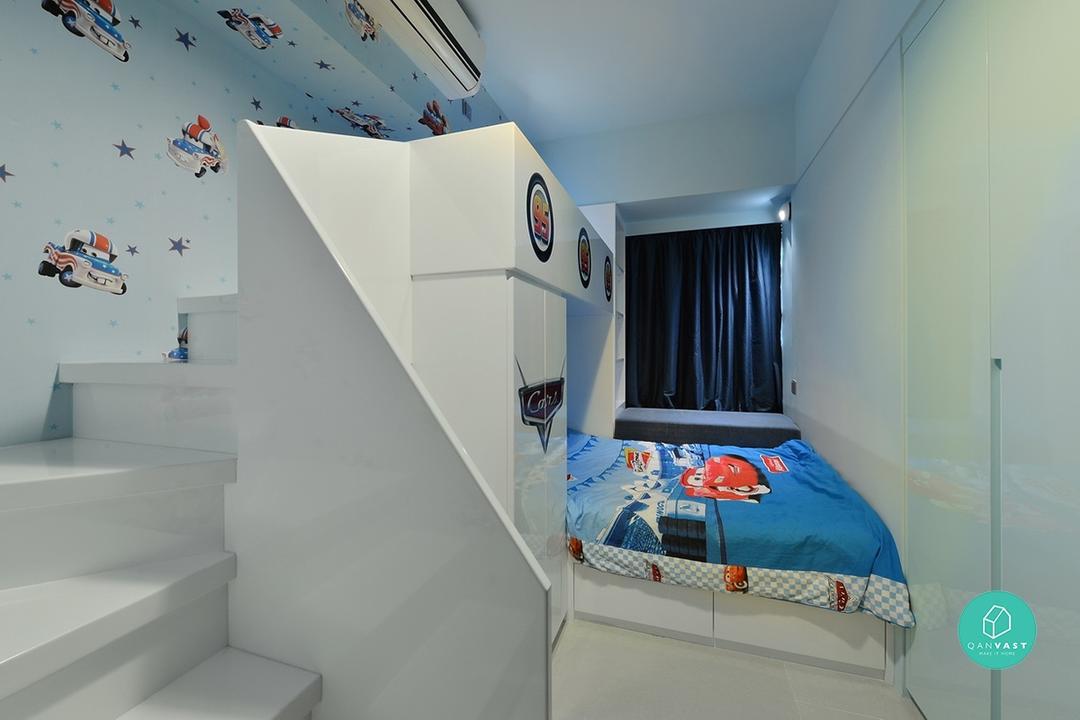 為孩子的成長作好準備:六個年輕家庭室內設計示範
