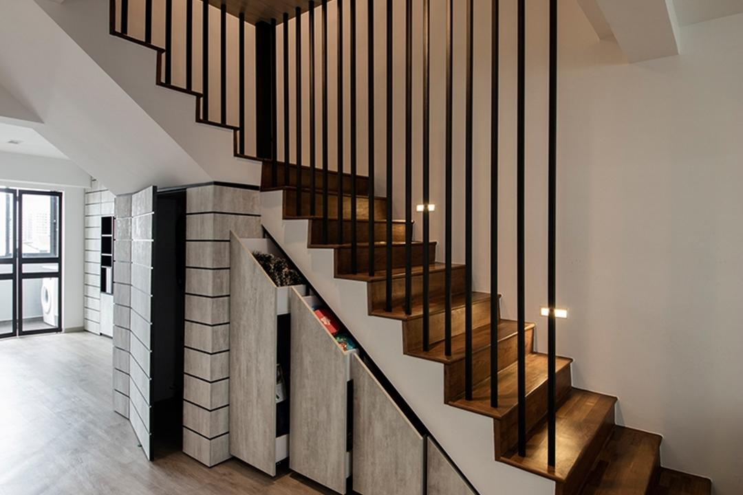 HDB Beam Column Bomb Shelter Staircase Ideas