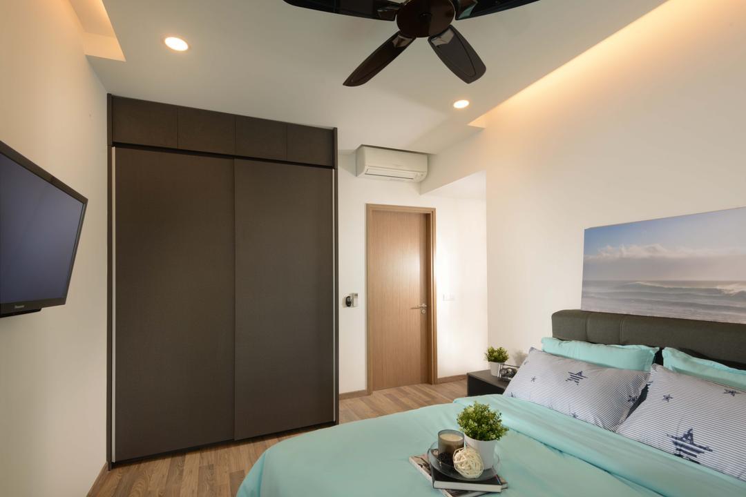Lakeville, ISH Interior Design, Contemporary, Condo, Bowl, Indoors, Interior Design, Bedroom, Room