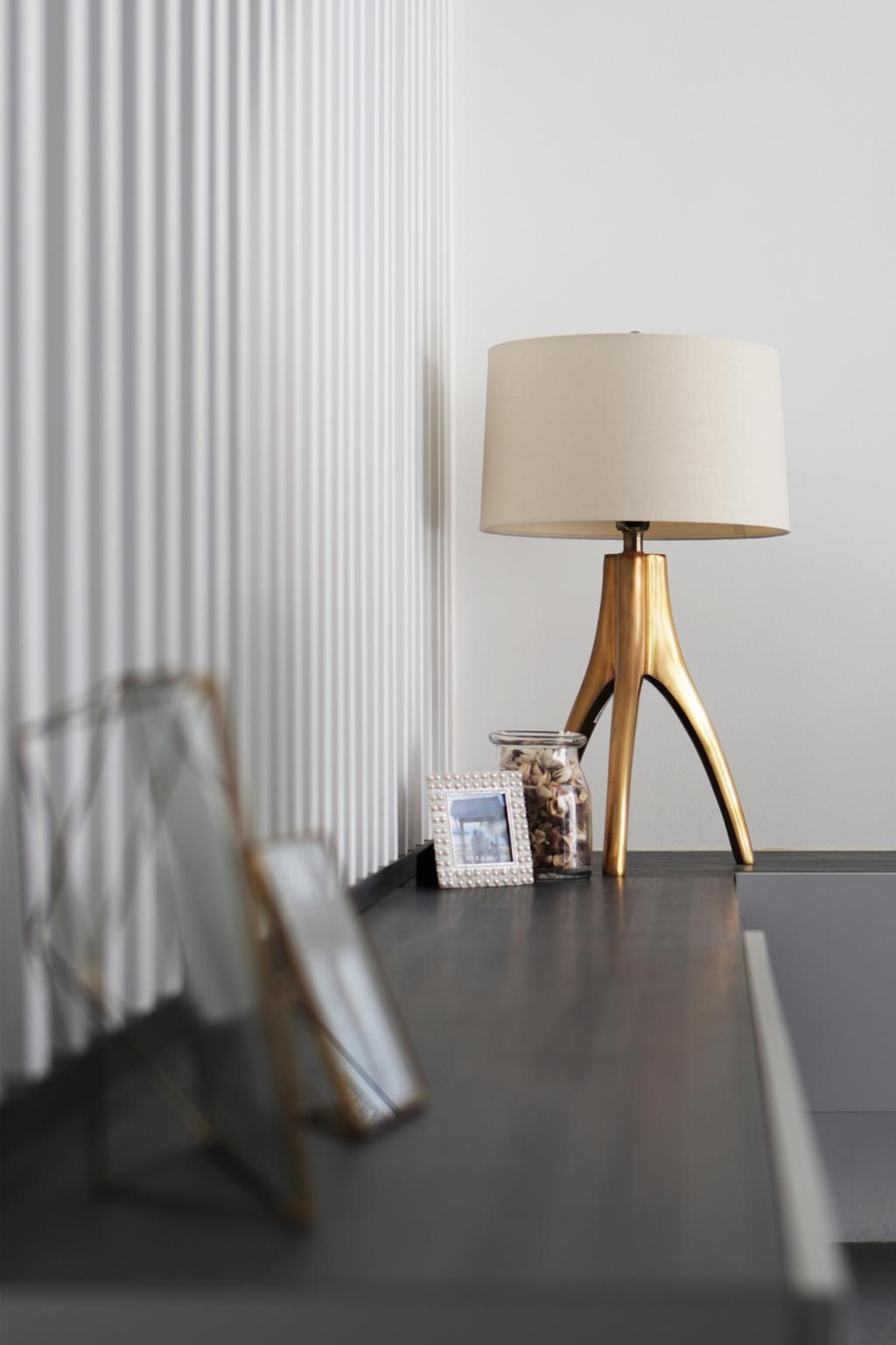 Modern, Landed, Living Room, Taman Bedok, Interior Designer, The Design Abode, Lamp