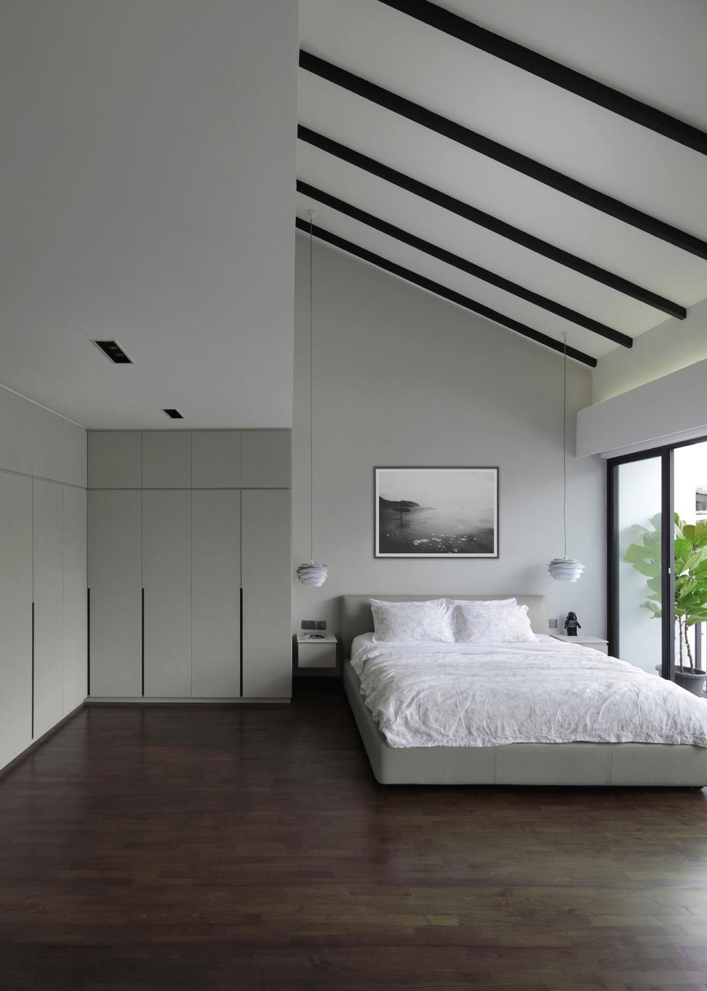 Modern, Landed, Bedroom, Taman Bedok, Interior Designer, The Design Abode, Indoors, Interior Design, Room