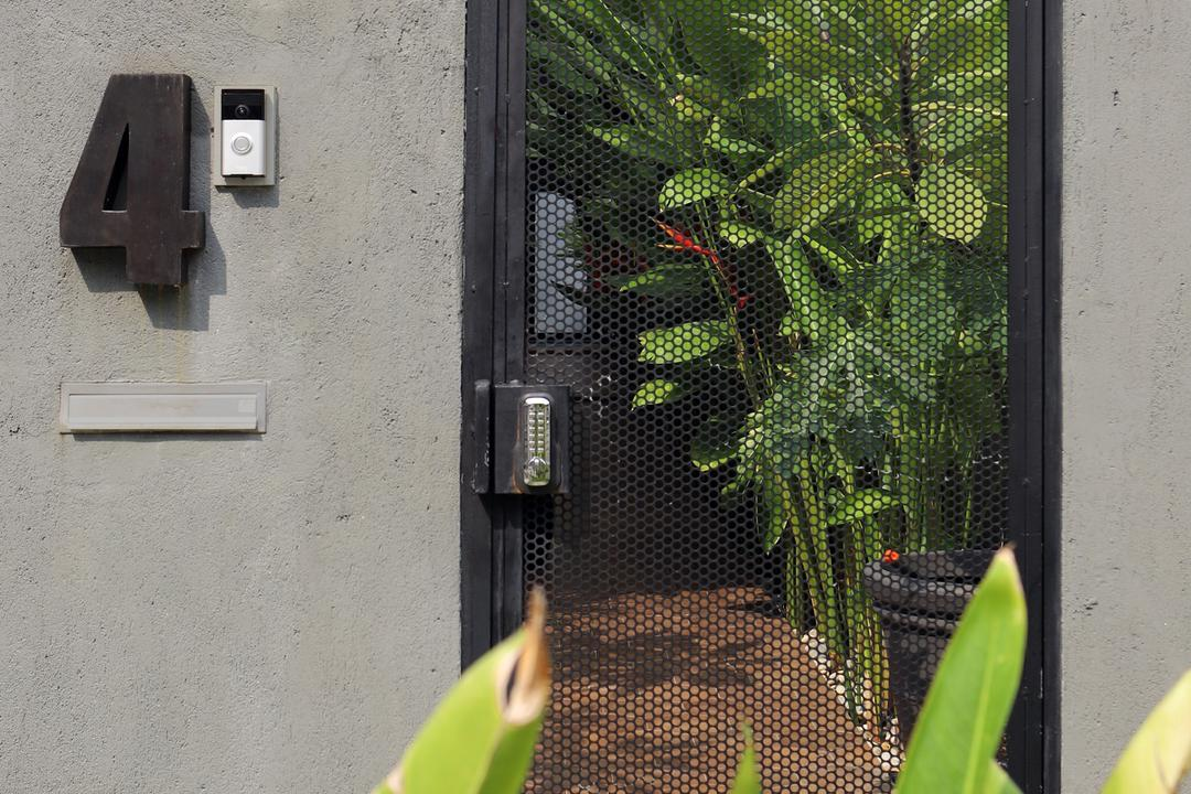 Joo Chiat, The Design Abode, Modern, Landed, Electrical Device, Switch, Flora, Jar, Plant, Potted Plant, Pottery, Vase