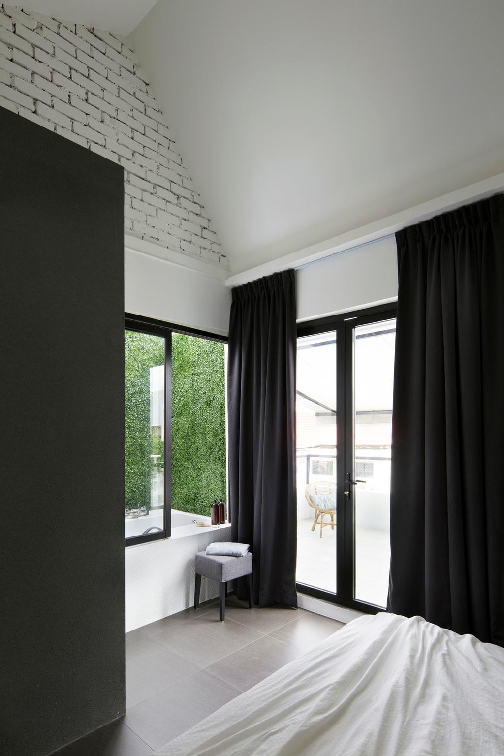 Modern, Landed, Joo Chiat, Interior Designer, The Design Abode, Curtain, Home Decor