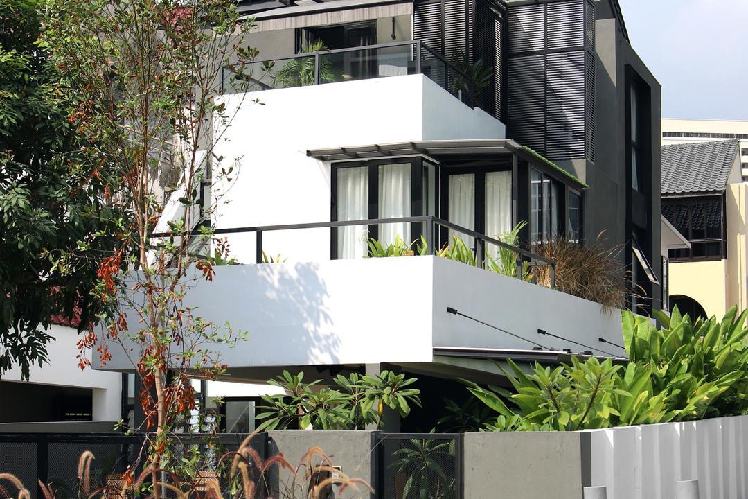 Joo Chiat, The Design Abode, Modern, Landed, Flora, Jar, Plant, Potted Plant, Pottery, Vase, Planter, Bonsai, Tree