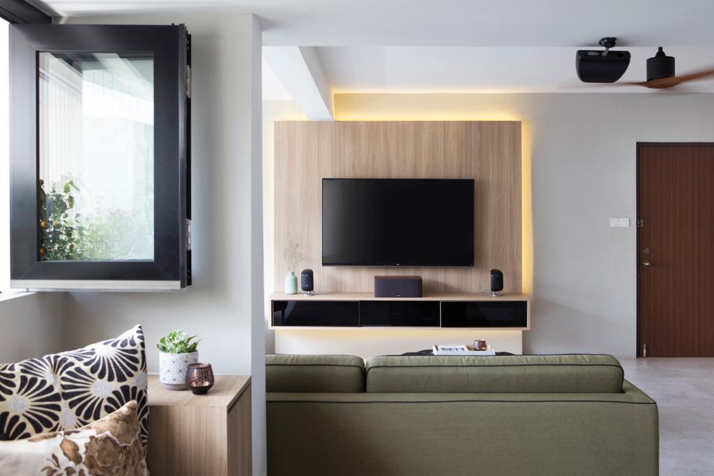 Contemporary, Condo, Living Room, Lakeview, Interior Designer, The Design Abode