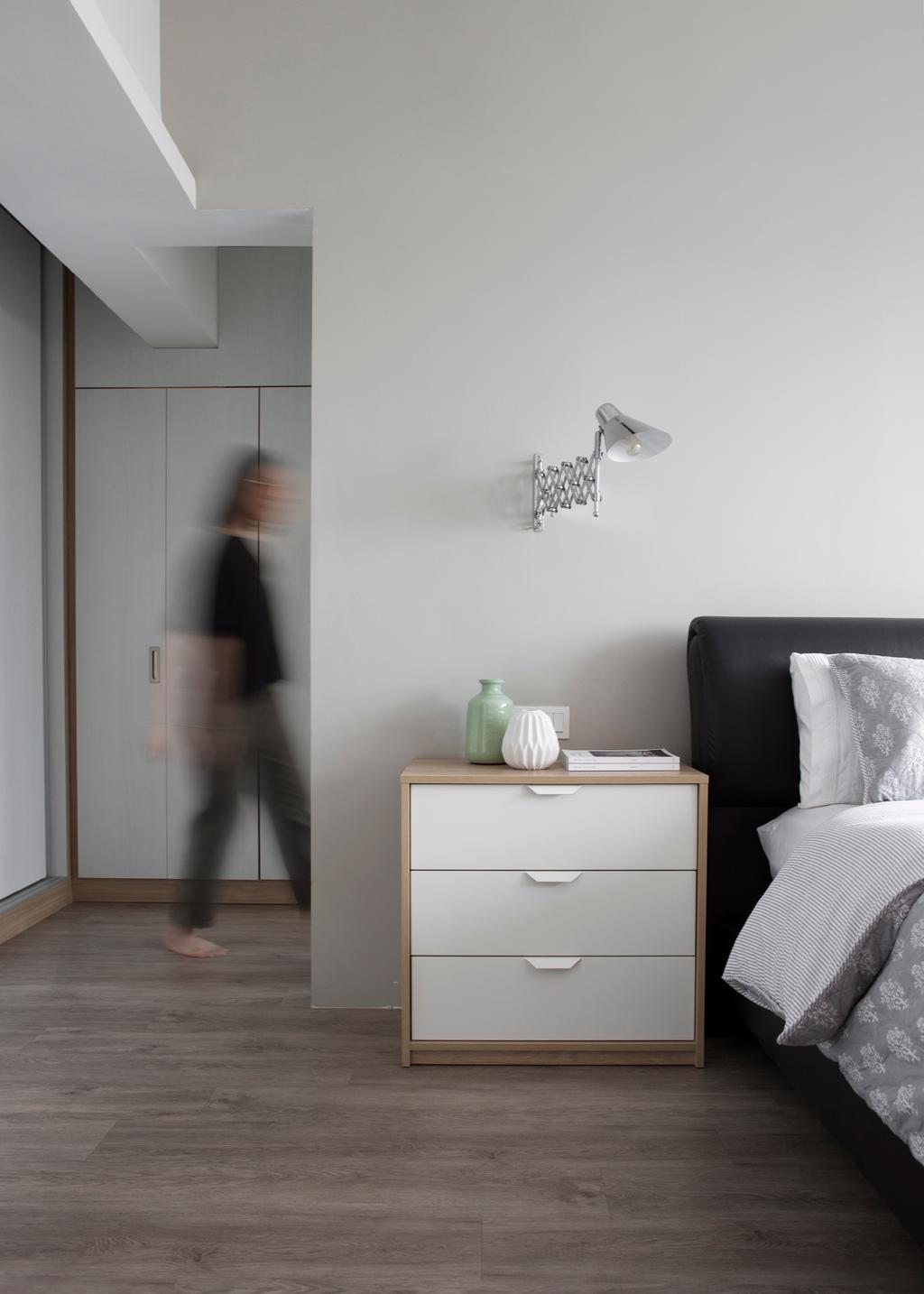 Contemporary, Condo, Bedroom, Lakeview, Interior Designer, The Design Abode