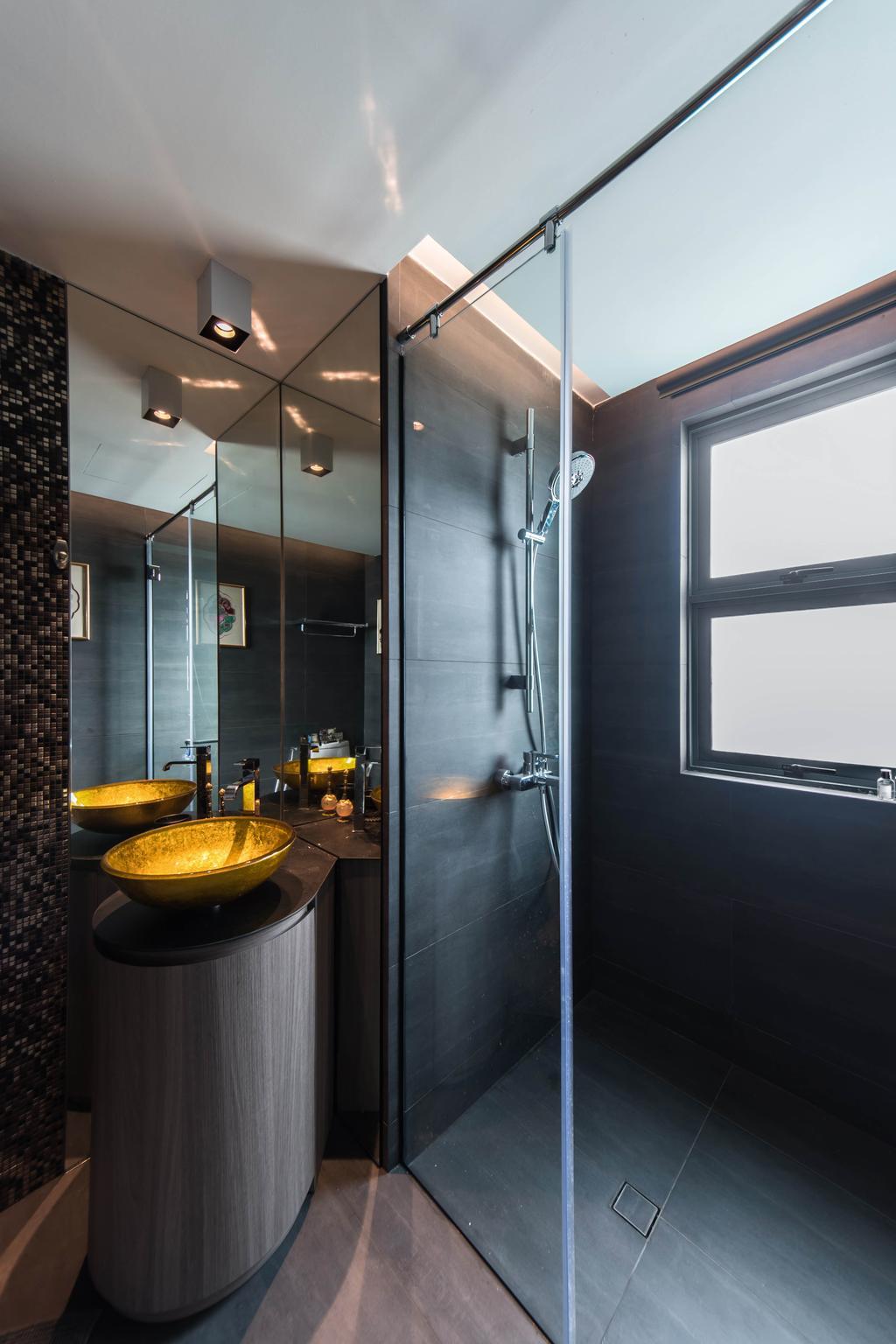 Contemporary, Condo, Bathroom, Jalan Loyang Besar, Architect, LLARK Architects, Transitional