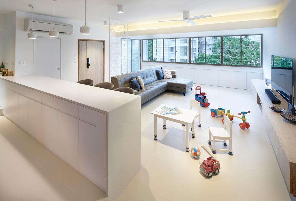 Scandinavian, Condo, Living Room, Mandalay Road, Architect, LLARK Architects, Minimalistic, Indoors, Interior Design