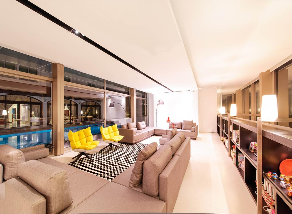 Modern, Landed, Living Room, Queen Astrid Park, Architect, LLARK Architects, Couch, Furniture, Indoors, Interior Design