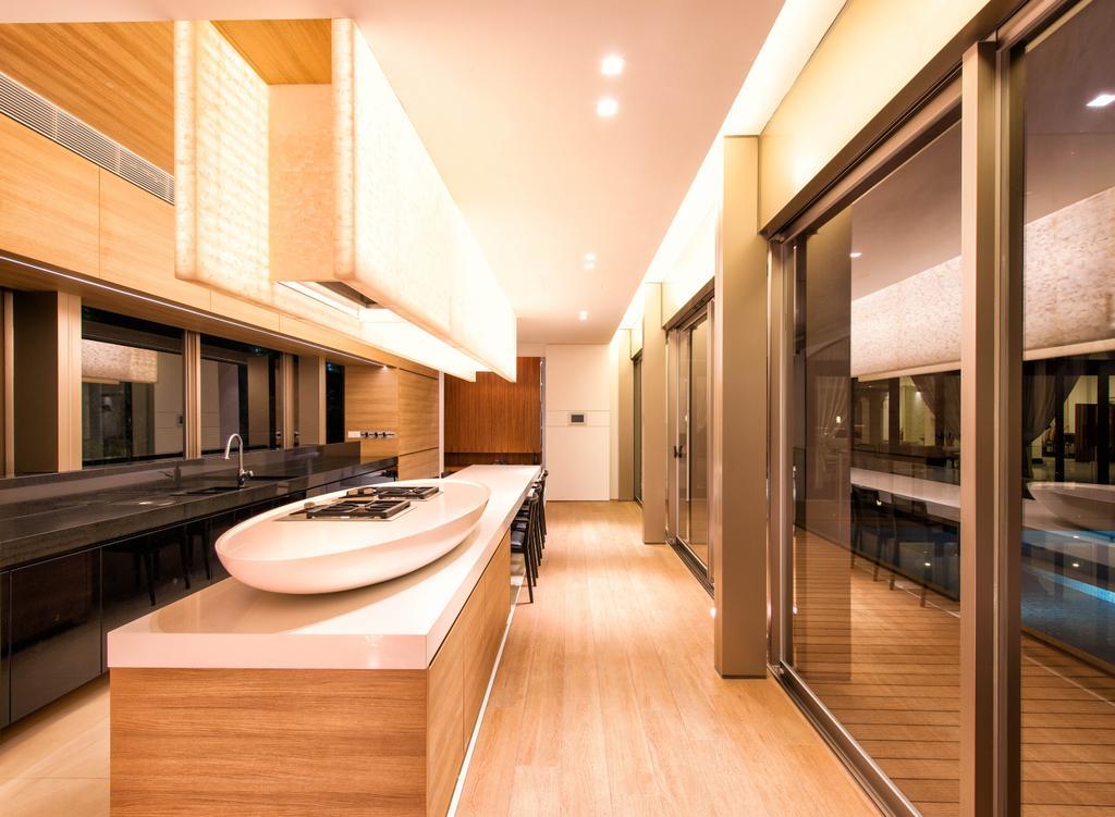 Modern, Landed, Bathroom, Queen Astrid Park, Architect, LLARK Architects, Indoors, Interior Design, Hardwood, Wood