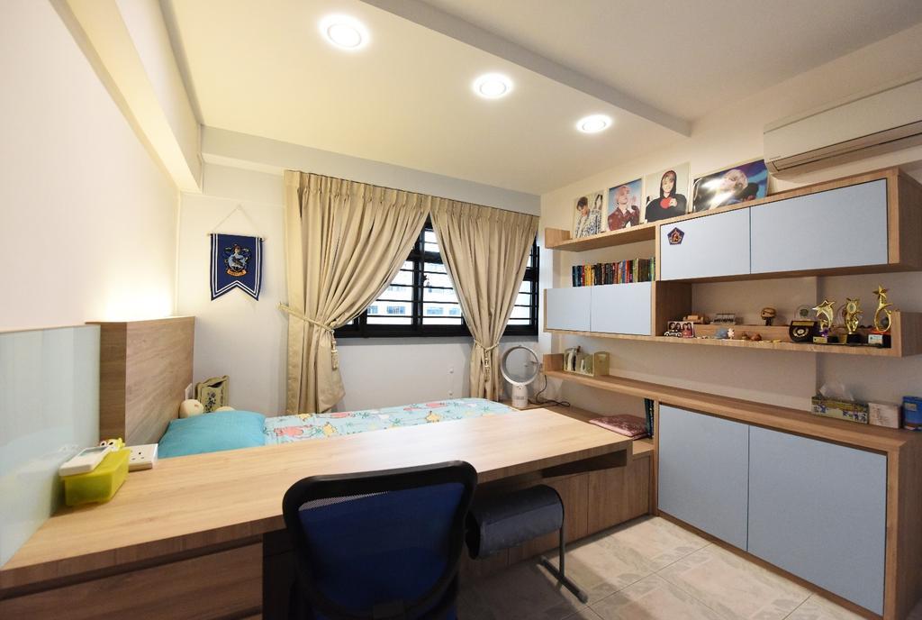 Scandinavian, HDB, Bedroom, Eunos Crescent, Interior Designer, Starry Homestead
