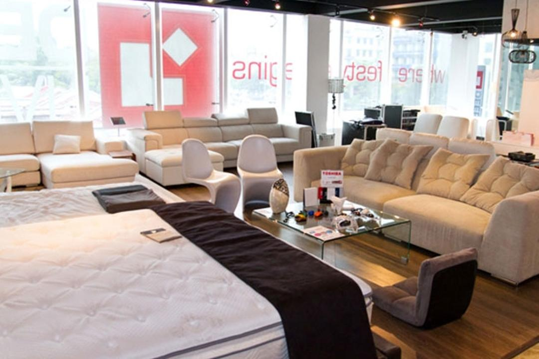 Deep Living @ Sg Besi, Mega Fusion Design Studio, Contemporary, Commercial, Couch, Furniture, Mattress, Studio Couch