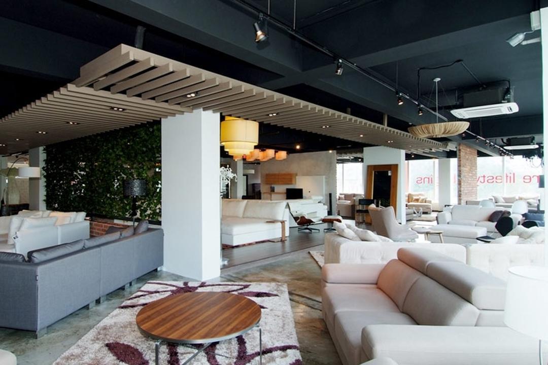 Deep Living @ Sg Besi, Mega Fusion Design Studio, Contemporary, Commercial, Couch, Furniture, Patio, Pergola, Porch, Indoors, Interior Design, Living Room, Room, Apartment, Building, Housing