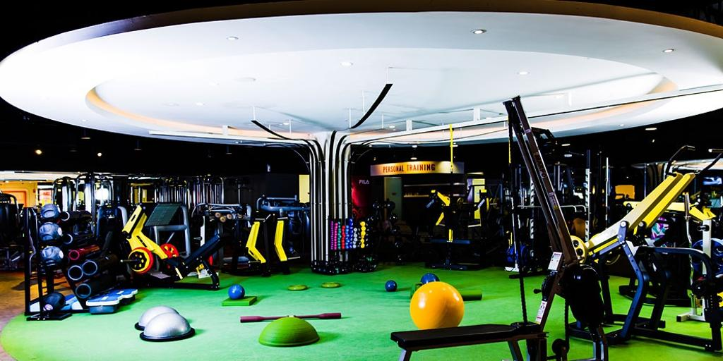 Peak Fitness @ SOGO, Commercial, Interior Designer, Mega Fusion Design Studio, Industrial, Ball, Sphere, Billiard Room, Furniture, Indoors, Pool Table, Room, Table