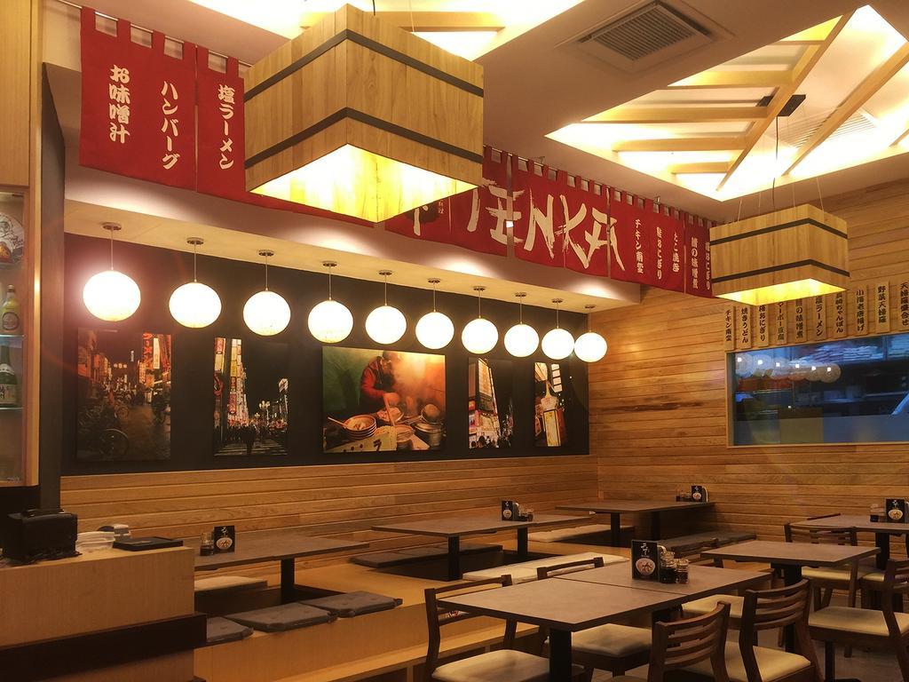 Tenka @ IOI City Mall, Commercial, Interior Designer, Mega Fusion Design Studio, Traditional, Food, Food Court, Restaurant, Bench, Dining Table, Furniture, Table