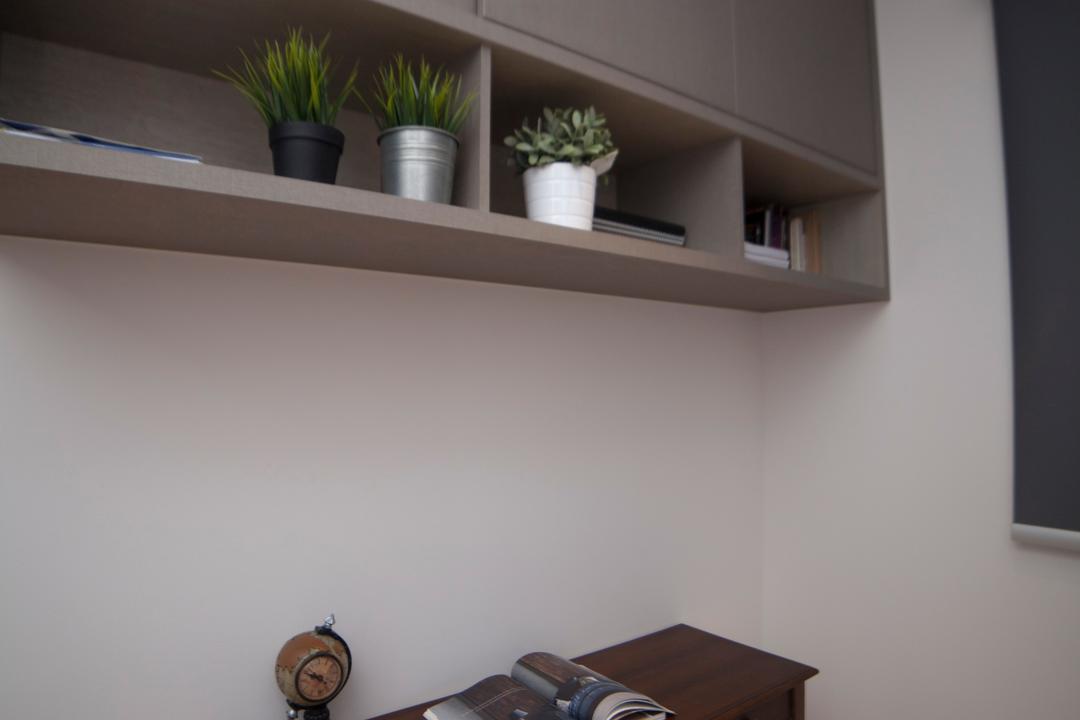 Bellewaters, ID Sense, Modern, Condo, Flora, Jar, Plant, Potted Plant, Pottery, Vase, Shelf, Pot