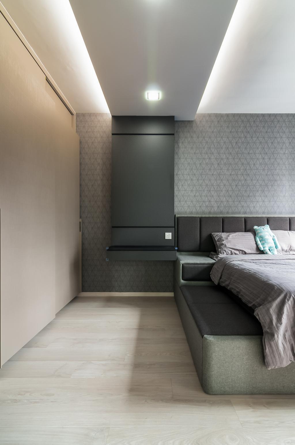Contemporary, Condo, Bellewaters, Interior Designer, ID Sense, Couch, Furniture