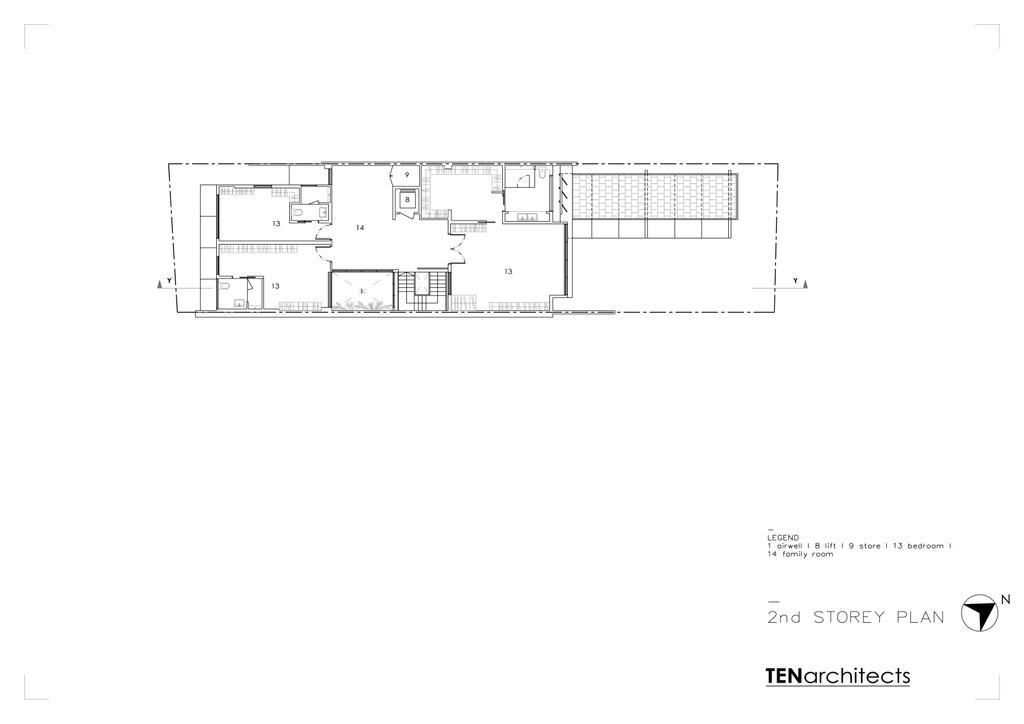 Contemporary, Landed, 26 Dyson Road, Architect, TENarchitects, Floor Plan, Diagram, Plan