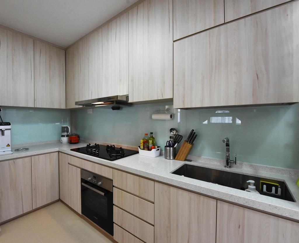 Scandinavian, HDB, Kitchen, Sumang Lane (Block 220A), Interior Designer, Starry Homestead, Indoors, Interior Design, Room