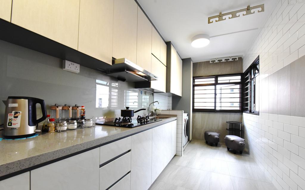 Modern, HDB, Compassvale Road, Interior Designer, Starry Homestead, Cup