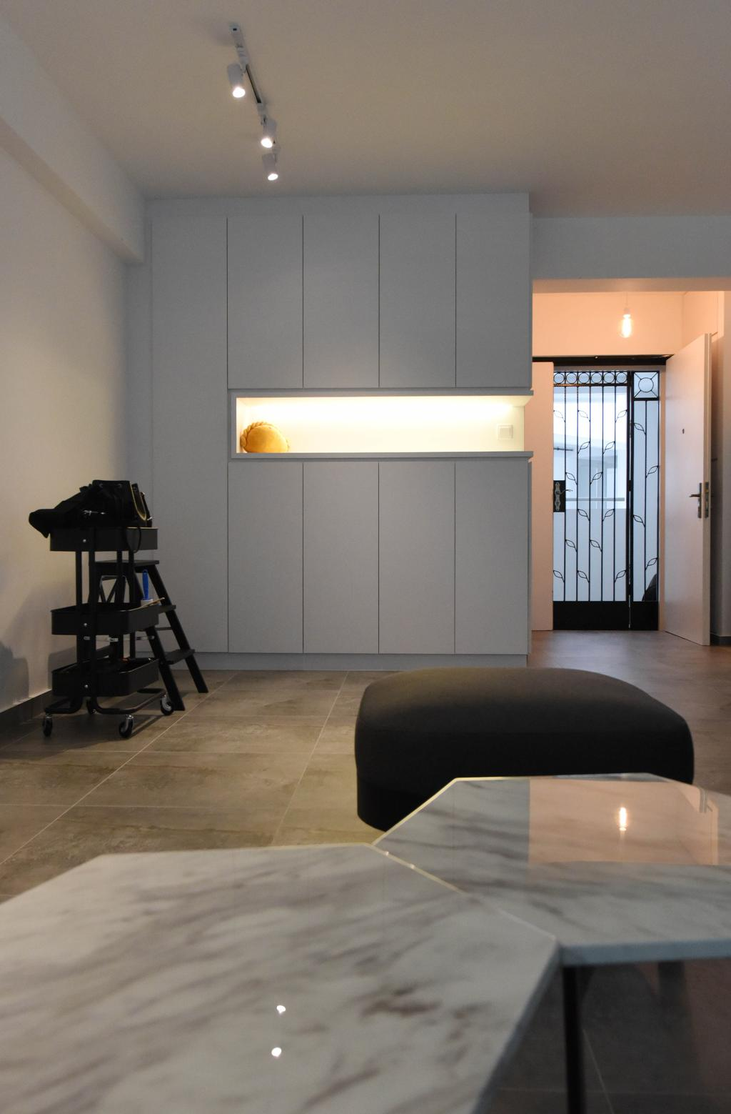 Industrial, HDB, Sumang Lane (Block 233B), Interior Designer, Starry Homestead, Minimalist, Chair, Furniture, Building, Housing, Indoors, Loft