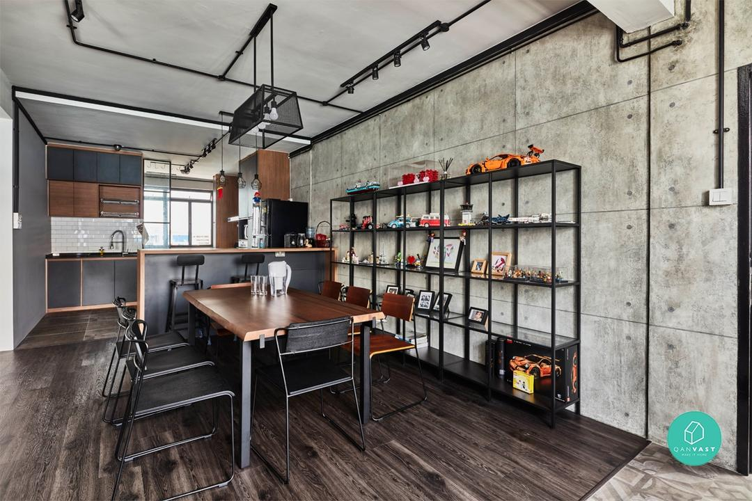 New York Loft Interior Style Design and Furniture