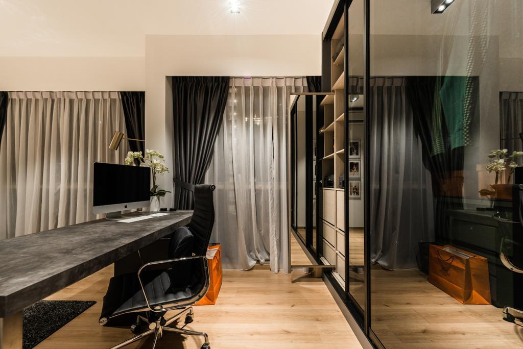 Modern, Condo, The Vales, Interior Designer, Mr Shopper Studio, Luggage, Suitcase, Chair, Furniture, Indoors, Interior Design