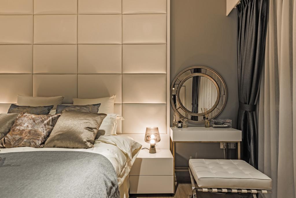 Modern, Condo, The Vales, Interior Designer, Mr Shopper Studio, Couch, Furniture, Indoors, Interior Design, Bedroom, Room