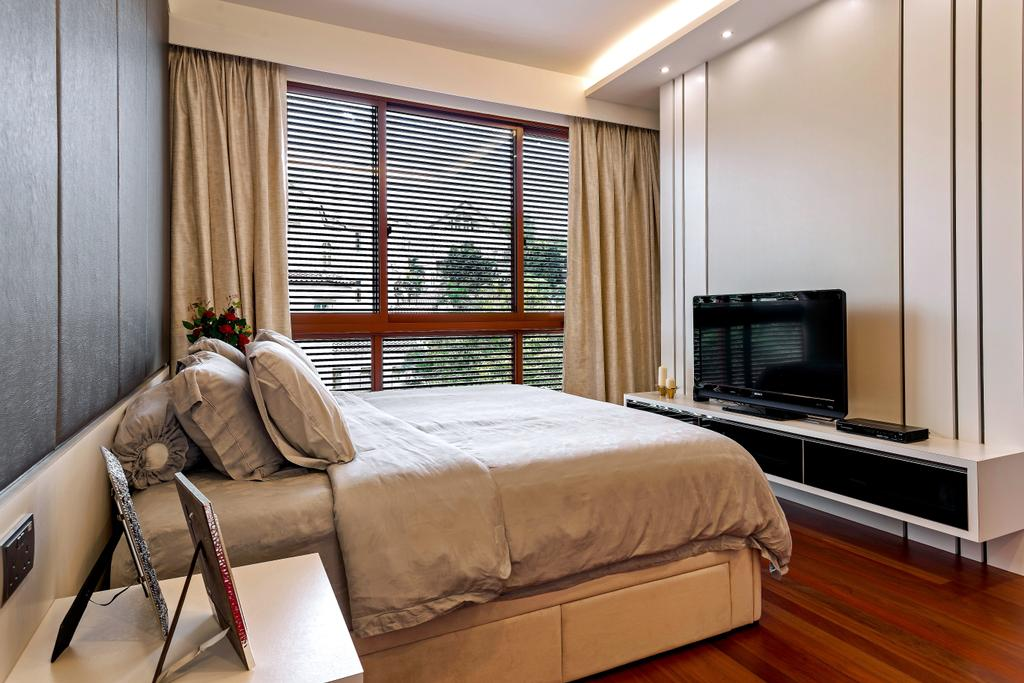 Modern, Landed, Bedroom, Holland Green, Interior Designer, Summerhaus D'zign, Contemporary, Bed, Furniture