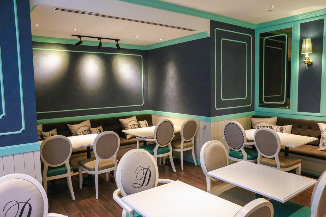Dazzling Cafe, The Design Practice, Commercial, Chair, Furniture, Conference Room, Indoors, Meeting Room, Room, Classroom