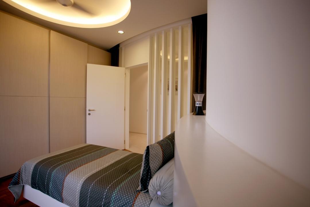 Avon Park, 7 Interior Architecture, Modern, Bedroom, Condo, Cove Ight, Ceiling Fan, Wardrobe, Bed, Indoors, Interior Design, Room