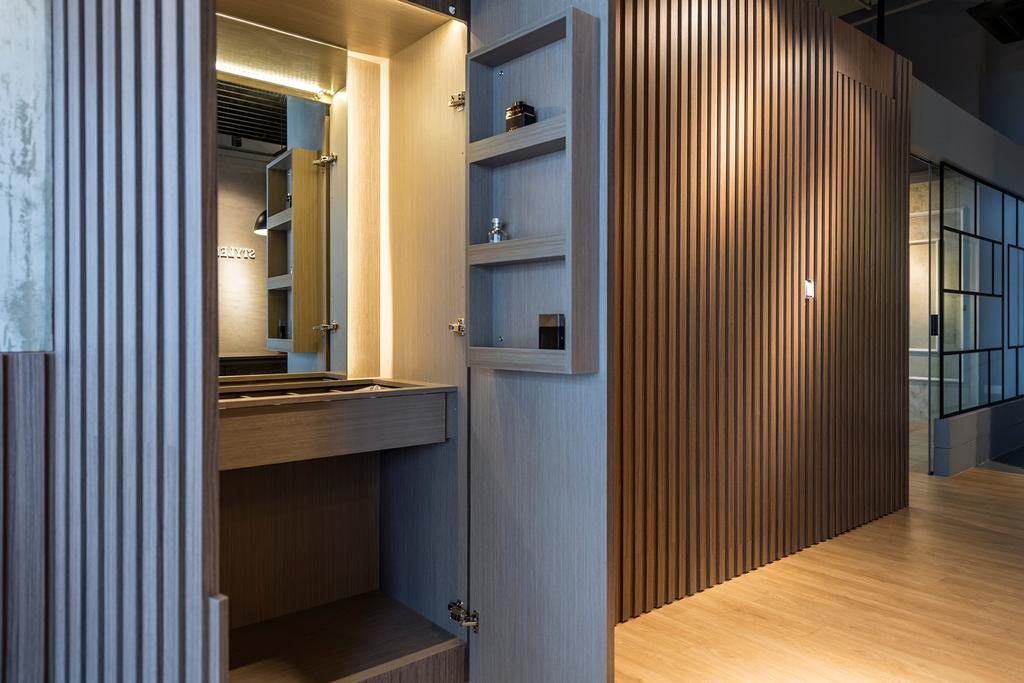 Pereira Road, Commercial, Interior Designer, Stylemyspace, Industrial, Contemporary, Flooring, Floor