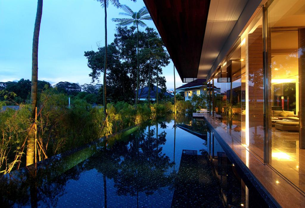 Contemporary, Landed, Garden, 25 Olive Road, Architect, 7 Interior Architecture, Pond, Plant