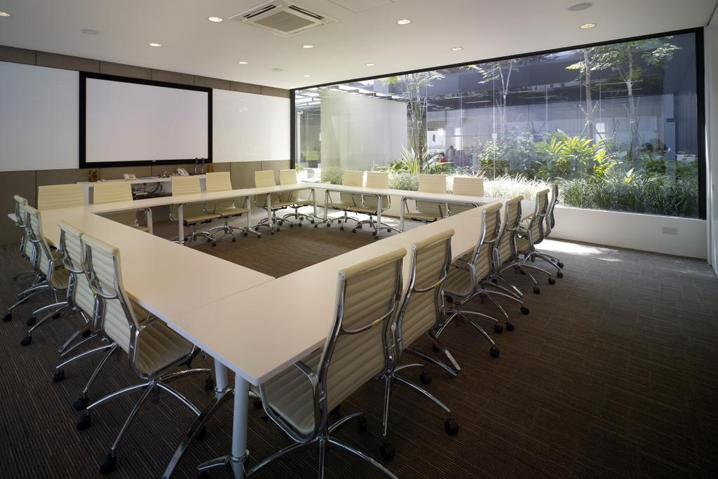 HG Metal HQ & Warehouse, Commercial, Interior Designer, The Design Abode, Minimalistic, Conference Room, Chairs, Rooler Chair, Indoors, Meeting Room, Room, Chair, Furniture
