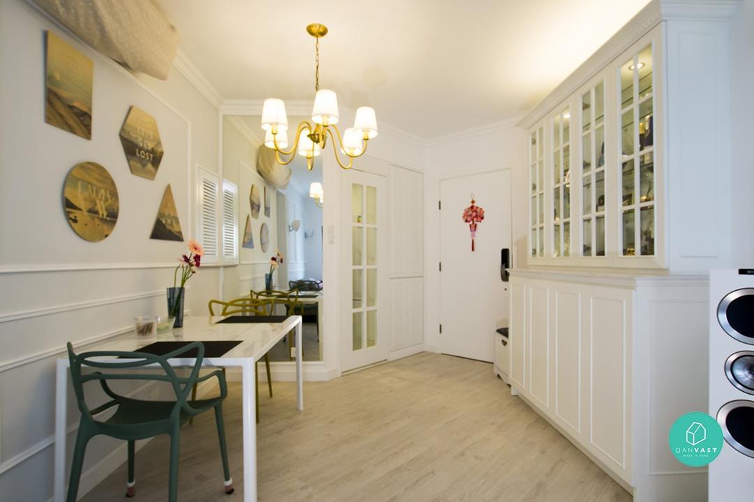 典雅又貴氣:四個你想居住的摩登歐陸式家居 7