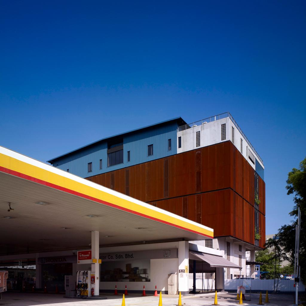 HG Metal HQ & Warehouse, Commercial, Interior Designer, The Design Abode, Minimalistic, Petrol Station, Wood Wall