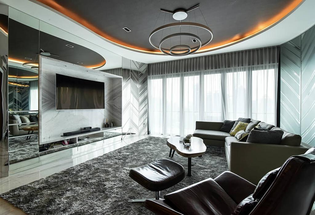 Setia Sky Residence, Kuala Lumpur by Hoe & Yin Design Studio