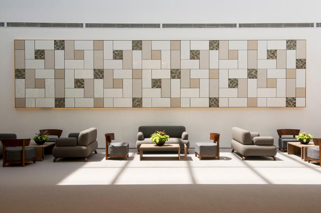 Changi Cove, Commercial, Interior Designer, The Design Abode, Modern, Living Room, Sofa, Clean, White, Tiles, Furniture