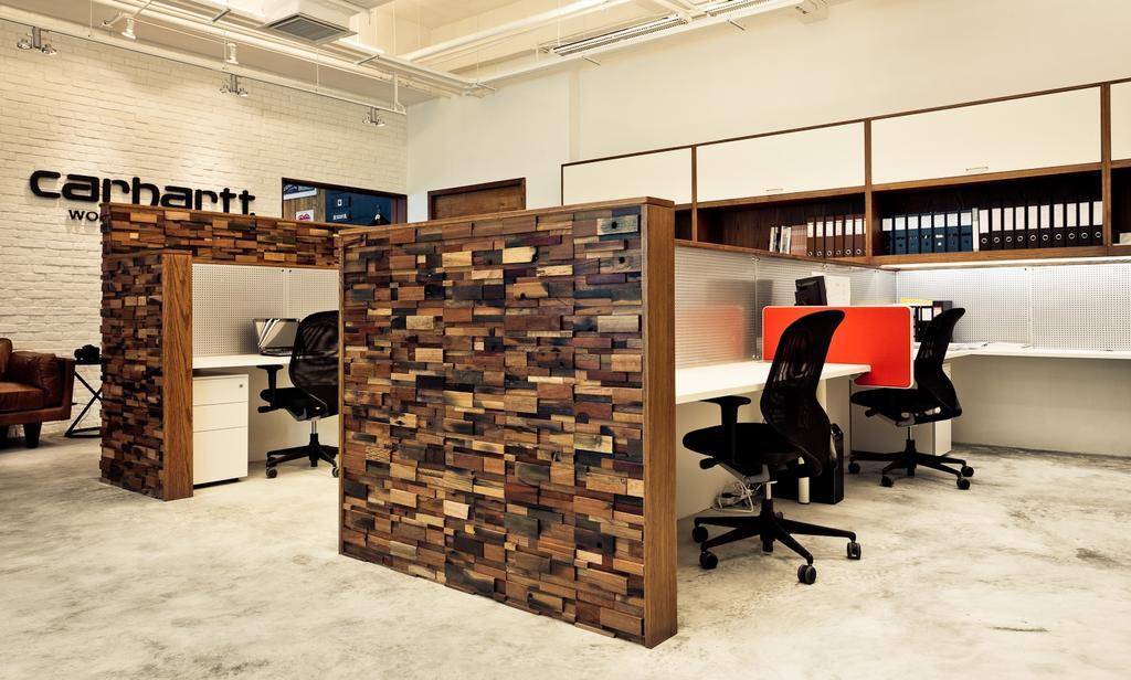 Carhartt WIP, 商用, 室內設計師, Fixonic Interior Design & Construction, 工業, Chair, Furniture, Lumber, Wood