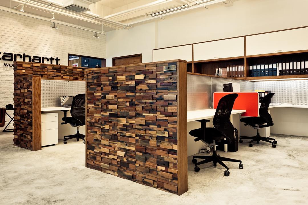 Carhartt WIP, Fixonic Interior Design & Construction, 工業, 商用, Chair, Furniture, Lumber, Wood