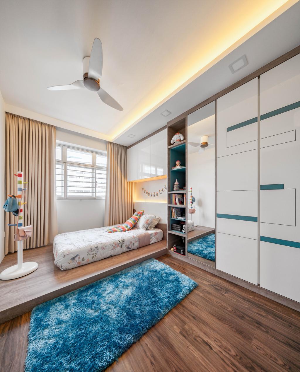 Contemporary, HDB, Taman Jurong, Interior Designer, T&T Design Artisan, Indoors, Interior Design, Bedroom, Room