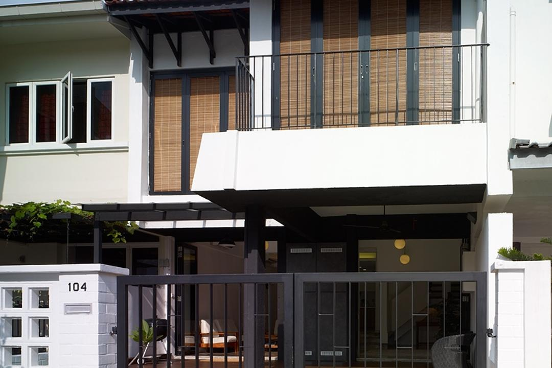 Binchang Rise, The Design Abode, Minimalist, Landed, Gate, Balcony, Building, House, Housing, Villa, Awning, Canopy