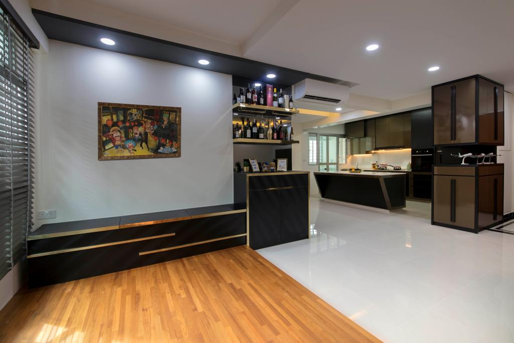Modern, HDB, Yishun Ring Road, Interior Designer, Starry Homestead, Flooring