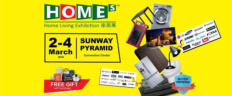 Home Living Exhibition Sunway Pyramid IDs Home Appliances